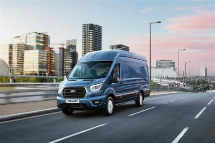 Ford Transit Van Medium Roof 290 L2 2.0 EcoBlue FWD 130PS Leader Van Medium Roof Manual [Start Stop]