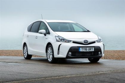 Lease Toyota Prius+ car leasing
